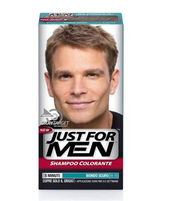 Just For Men šampón na šedivé vlasy H-15 Dark Blond