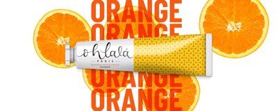 Ohlala zubná pasta ORANGE MENTHE 100ml