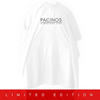 Pacinos Barber Cape White