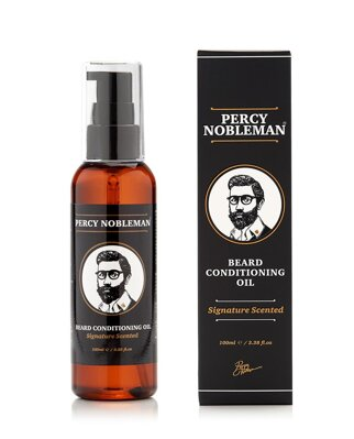 Percy Nobleman-Scented Beard oil 100ml