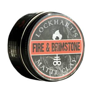 Lockhart's Fire and Brimstone Matte Clay 105g